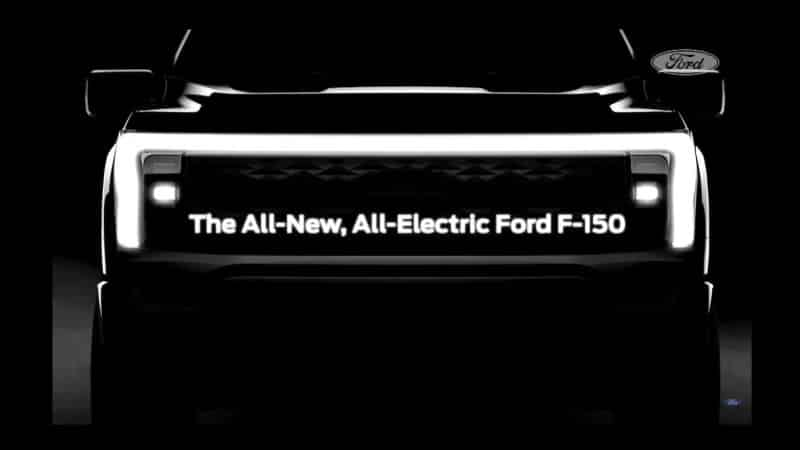 All-new Ford Electric Vehicles